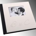 Сватбена фотокнига корица от мдф и снимка
