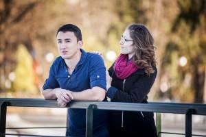 Професионална фотосесия за влюбена двойка, романтична фотосесия Пловдив, годежна фотосесия 1