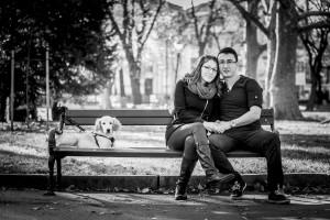 Професионална фотосесия за влюбена двойка, романтична фотосесия Пловдив, годежна фотосесия 2