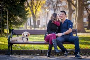 Професионална фотосесия за влюбена двойка, романтична фотосесия Пловдив, годежна фотосесия 3