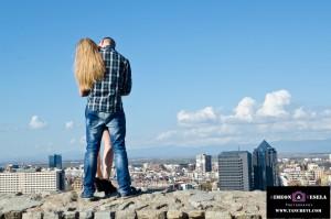 Професионална фотосесия за влюбена двойка, романтична фотосесия Пловдив, годежна фотосесия 57